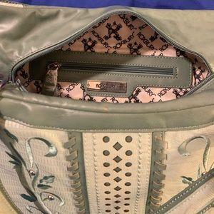 Roxbury by Nicole Lee green large purse
